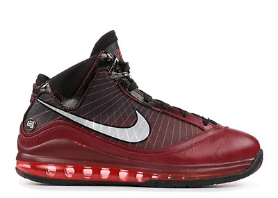 e2b400049a4 Lebron 7 P.s. (pop) - Nike - 408758 101 - white black-sport red ...