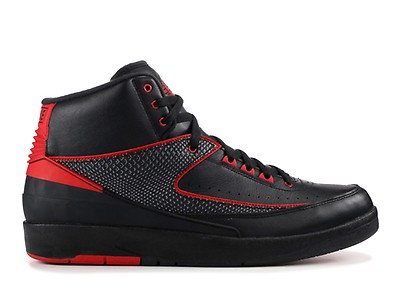 0101490c8d0d1e Air Jordan 2 Retro - Air Jordan - 385475 102 - white black-vrsty red ...