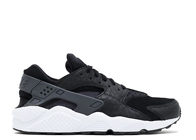 45727a5a9 Air Huarache Run PRM Zip - Nike - bq6164 001 - black/black-white ...