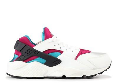 16e39aee08a3 Huarache Run (gs) - Nike - 654275 104 - white black-pink pow-soar ...