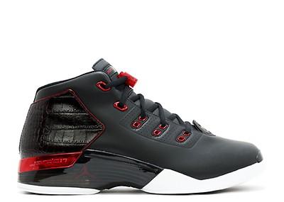 a402dc6c8582 Air Jordan 17 - Air Jordan - 302720 161 - white varsity red-charcoal ...