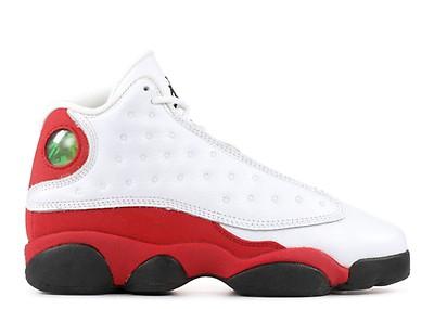 05980be1d44 Air Jordan 13 (og) - Air Jordan - 136002 132 - white true red-black ...