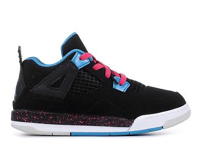 25d5b2e8b871 Girls Air Jordan 4 Retro (gs) - Air Jordan - 487724 019 - black ...