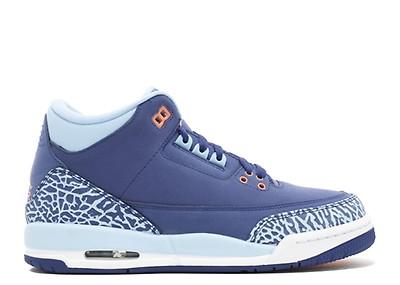 Girls Air Jordan 3 Retro (gs) - Air Jordan - 441140 015 - cool grey ... 73dd9bad4