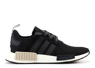 premium selection 5cc92 2884c Nmd R1 W - Adidas - ba7751 - black/sand-white | Flight Club
