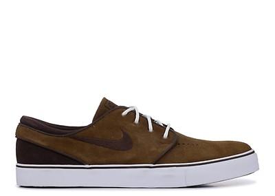 88b1f6c3 Zoom Stefan Janoski - Nike - 333824 205 - light british tan/dark ...