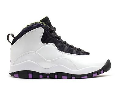72b555815ade Girls Air Jordan 10 Retro (gs) - Air Jordan - 487211 009 - wolf grey ...