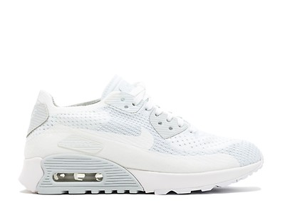 729627bcd8f3 Air Max 90 Ultra 2.0 Flyknit - Nike - 875943 006 - pale grey pales ...