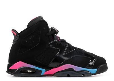 new styles e4d48 1c20b girls air jordan 6 retro (gs)