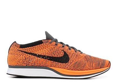 907bdba2c8240 Flyknit Racer - Nike - 526628 800 - bright citrus black bl lagoom ...