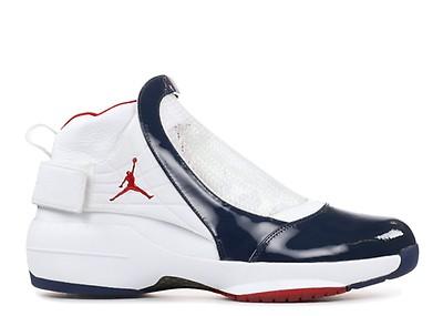08f980ab8e05bf Air Jordan 19 Retro - Air Jordan - aq9213 100 - white chrome-flint ...