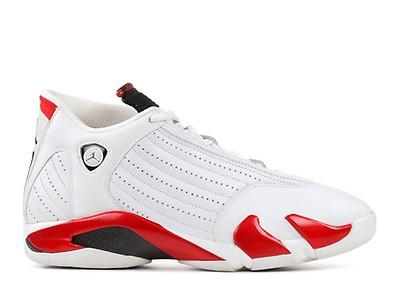 e9473a1fb0fd24 Air Jordan 14 Retro - Air Jordan - 311832 101 - white black-var red ...