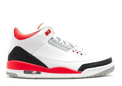 Air Jordan 3 Retro 88 - Air Jordan - 580775 160 - white fire red ... b41755f7a