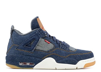 newest b58eb e1eb3 air jordan 4 retro levis nrg