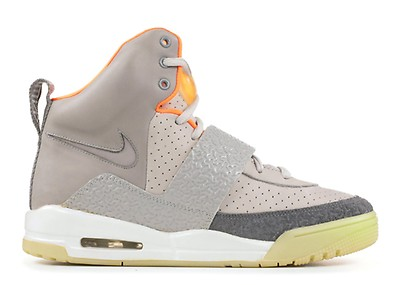 Air Yeezy Nike 366164 002 zen greylight charcoal