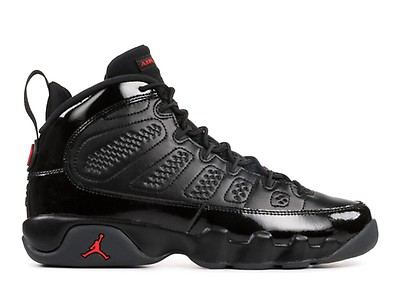 cda76c8e1ae7 Air Jordan 9 Retro Boot Nrg - Air Jordan - ar4491 001 - black black ...
