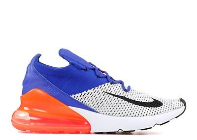 7c85bb0055c1c Air Max 270 Flyknit - Nike - ao1023 800 - laser orange blue orbit ...
