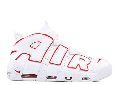 aaba93459ce9 Air More Uptempo - Nike - 414962 105 - white   black - university ...