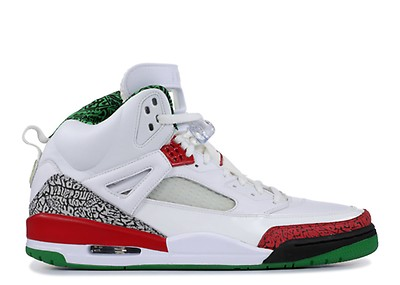 new concept bfb53 5c797 Spiz ike - Air Jordan - 315371 125 - white vrsty rd-cmnt gry-clssc ...