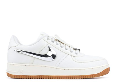 buy popular ba667 bcf4f air force 1 low travis scott