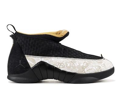 f722153ca7ee88 Air Jordan 15 Retro DB (gs) - Air Jordan - bv7110 017 - black white ...
