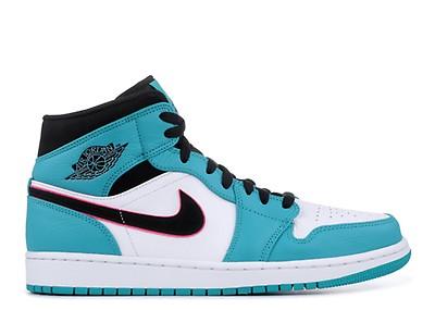 c4b0a8234741 Air Jordan 1 Mid - Air Jordan - 554724 415 - blue lagoon grand ...