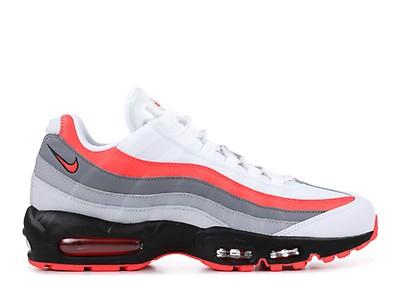 bc3b38a81360 AIR MAX 95 ESSENTIAL - Nike - 749766 106 - white black-solar red ...