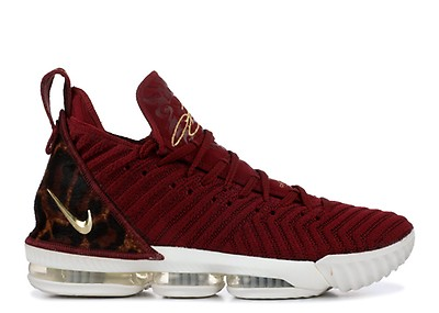 155dbb0b15c Lebron Xvi - Nike - ao2588 002 - black black-university red