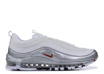 Mens Nike Air Max 97 Ultra 17 Pure Platinum UK 9 US 10 EUR 44 Cm 28 918356 008