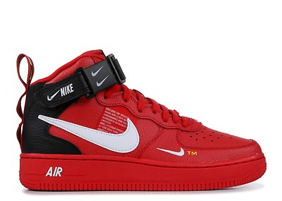 c481adbdee68e2 Air Force 1 Mid  07 Lv8 - Nike - 804609 605 - university red white ...