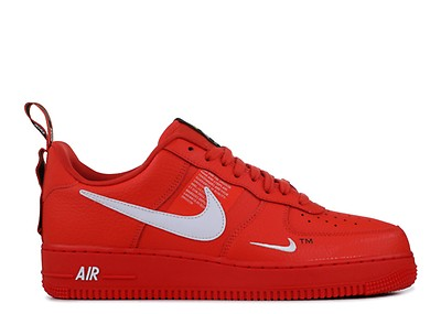4354ea012f57 Air Force 1 Mid  07 Lv8 - Nike - 804609 605 - university red white ...