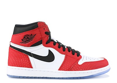 cf281a171bb1 Air Jordan 1 Mid Gs - Air Jordan - 554725 607 - university red black ...