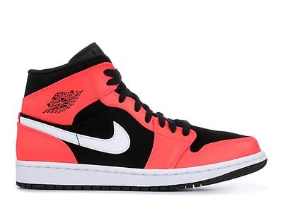 98092c873436 Jordan 1 Mid (td) - Air Jordan - 640735 124 - white black-hyper ...