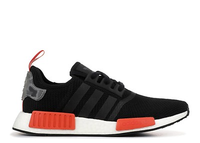 adidas Originals NMD_R1 Trainers core blacksolar orange