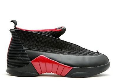 a057a296c7deec Air Jordan 15 Retro - Air Jordan - 317111 061 - black varsity red ...