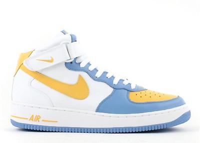 Air Force 1 Mid Id Nike 314884 991 b bluegreenorange