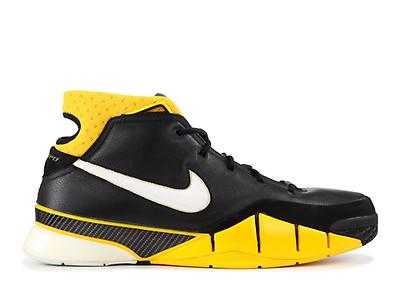 716eec387a5398 Kobe 1 Protro - Nike - AQ2728 003 - black.white-varsity maize ...