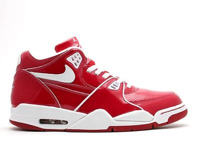 868536fd Nike Air Flight Lite High - Nike - 329984 002 - black/university red ...