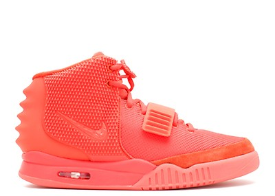 Air Yeezy 2 Nrg - Nike - 508214 006 - black black-solar red  17b2d2ebc