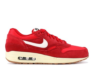 ac39075b22c149 Air Max 1 Essential - Nike - 537383 017 - black   hyper crimson-red ...