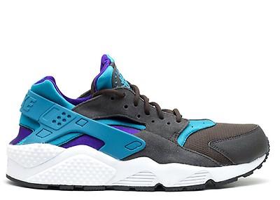 357259562849 Air Huarache - Nike - 318429 408 - beta blue bt bl-anthrct-cl gry ...