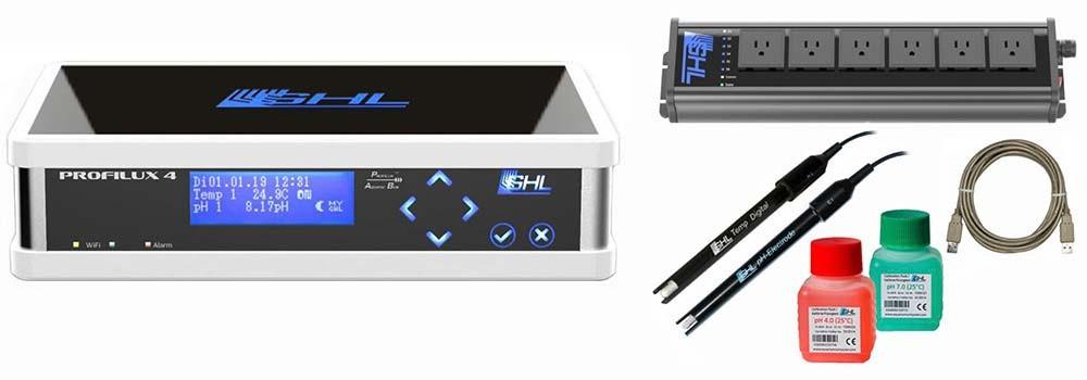 GHL ProfiLux 4e Aquarium Controller Starter Set - Black