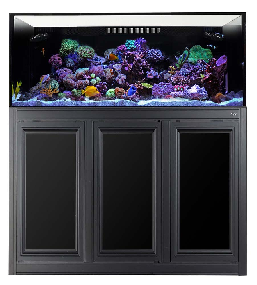 NUVO EXT 150 Gallon External Overflow Aquarium w/ Stand (Black) - Innovative Marine