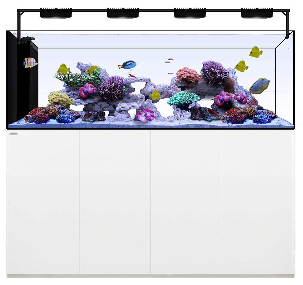 Peninsula 7225 +Plus HD Edition (White) - 228 Gallons with AI Hydra 32HD LED Lighting - Waterbox Aquariums