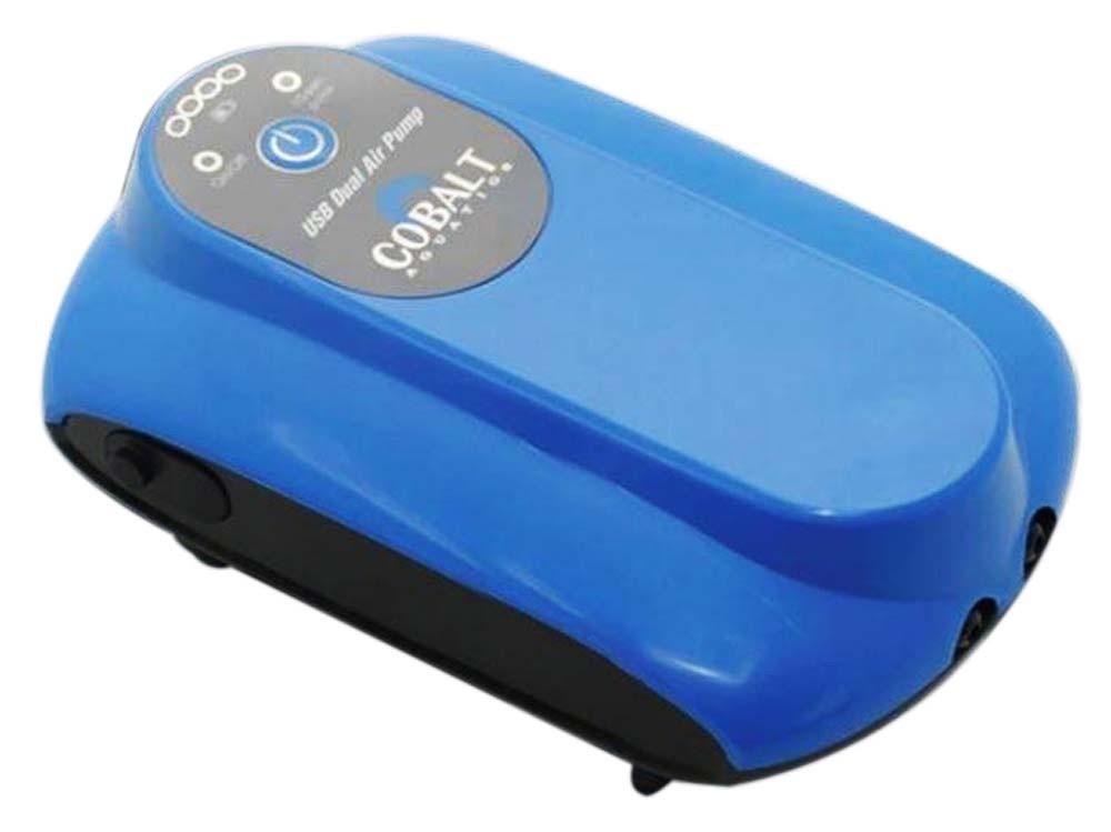 USB Powered DC Air Pump Dual Port - Cobalt Aquatics
