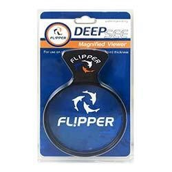 Flipper DeepSee Magnified Magnetic 4 Inch Viewer for Glass or Acrylic Aquariums