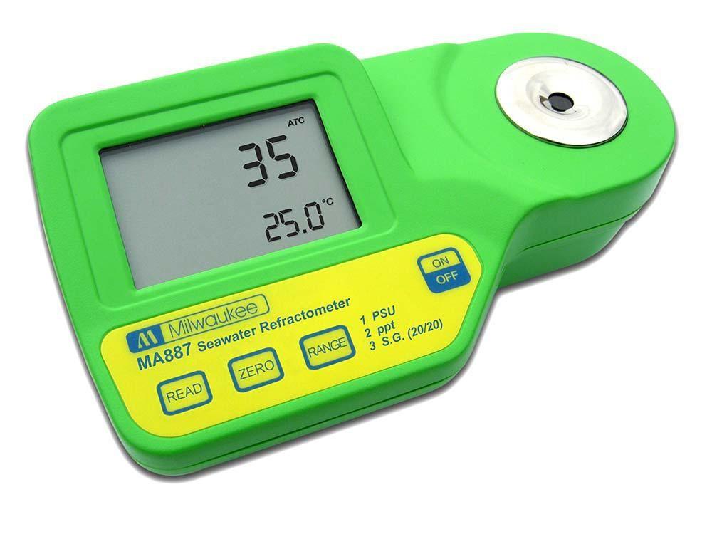 Milwaukee Seawater Digital Refractometer