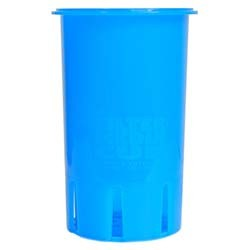High Flow Flexible Filter Media Cup - 4 inch - Calypso Blue