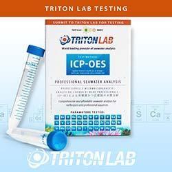 Triton Labs ICP-OES Seawater Analysis Test Kit - 1-Pack