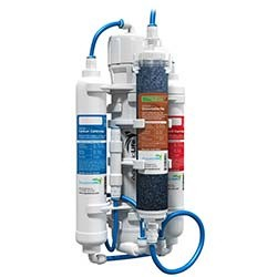 AquaticLife RO Buddie + DI 4 Stage Reverse Osmosis System w/ Tubing - 50 GPD